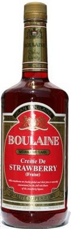 Jean Boulaine Strawberry 275@ Liqueur